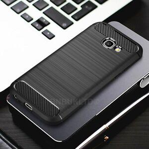For Samsung Galaxy A5 (2017)  Carbon Fibre Gel Case Cover Ultra Slim Shockproof