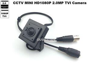 CCTV HD-TVI 1080P 2.0MP 3.7mm lens Mini-box Pinhole Spy CCTV Security TVI Camera