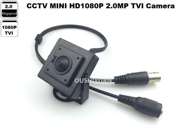 HD-TVI 1080P 2.0MP 3.7mm Lens Mini-Box Pinhole Spy CCTV Security HD TVI Camera