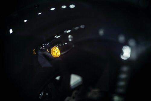 Kuryakyn Black Super Bright LED Mini Bullets Turn Signal Indicators Harley Bolt