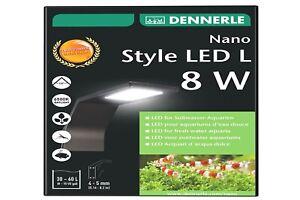 Brillant Dennerle Nano Style Del L 8 W Aquarium Extérieur Lampe Aufsteckleuchte-e Fr-fr Afficher Le Titre D'origine Toujours Acheter Bien