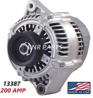 200 AMP 13836 ALTERNATOR Acura CL TL 3.2L High Output Performance NEW HD USA