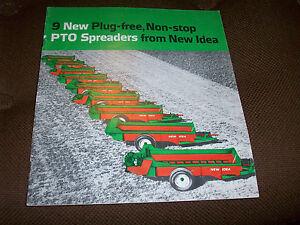 new idea pto manure spreaders brochure ebay