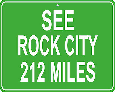 Gunsmoke Dodge City custom mileage sign distance from your house