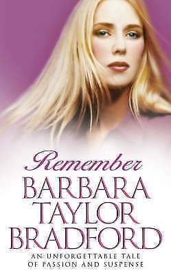 1 of 1 - Remember by Barbara Taylor Bradford Small Paperback 20% Bulk Magazine Discount
