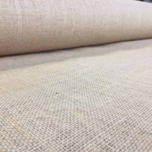 100cm wide * Luxury Premium Hessian 100/% Jute 10 oz Fabric Material