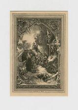 Cristiano-Notte nel Bosco NATALE LEGNO chiave 1885 31