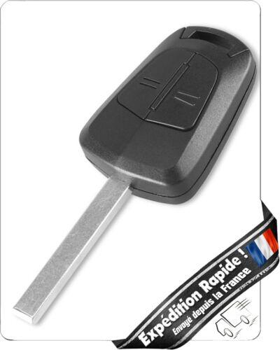 1 Lame pour Opel Astra H Zafira B Corsa D Clé 2 boutons