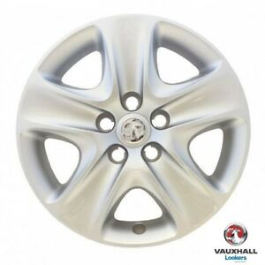 Genuine-Vauxhall-Astra-H-Meriva-B-amp-Zafira-B-16-034-5-Spoke-Wheel-Trim-13337258-X1