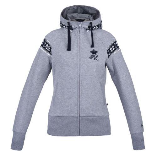 Kingsland Jacket pour Chandail dames nordique d'équitation chiné clair gris équestre Jacinda Chandail rO1Sqr