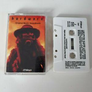 HARDWARE ORIGINAL SOUNDTRACK CASSETTE TAPE SIMON BOSSWELL MILAN RECORDS 1990