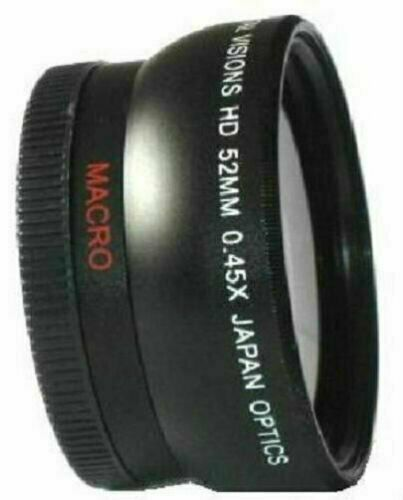 Digital Visions .45x Wide Angle titanium lens attachment for 52mm thread
