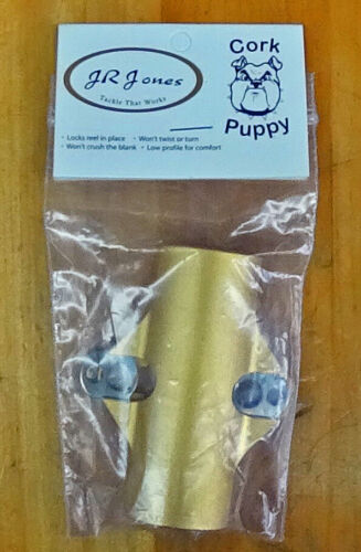 Cork Puppy 28 mm Gold Rod Clamp for Deckhand Style Rods