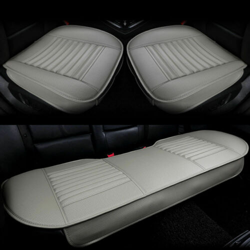 Car Seat Cover PU Leather 3D Pad Mat for Auto Chair Cushion Universal Breathable