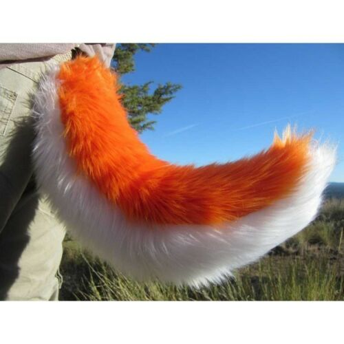 """Husky Costume Tails 24/"""" par anthrowear-Furry Clip-on Cosplay Accessoires"""