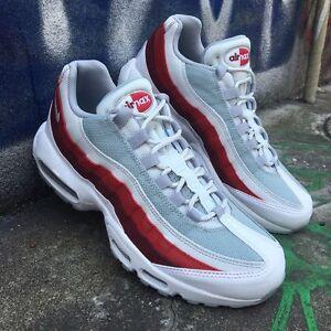 nike air max 95 red and grey