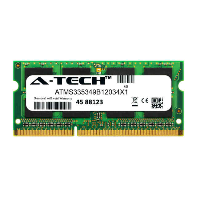 8GB 2x4GB Memory PC3-12800 DDR3-1600MHz for TOSHIBA SATELLITE A665D