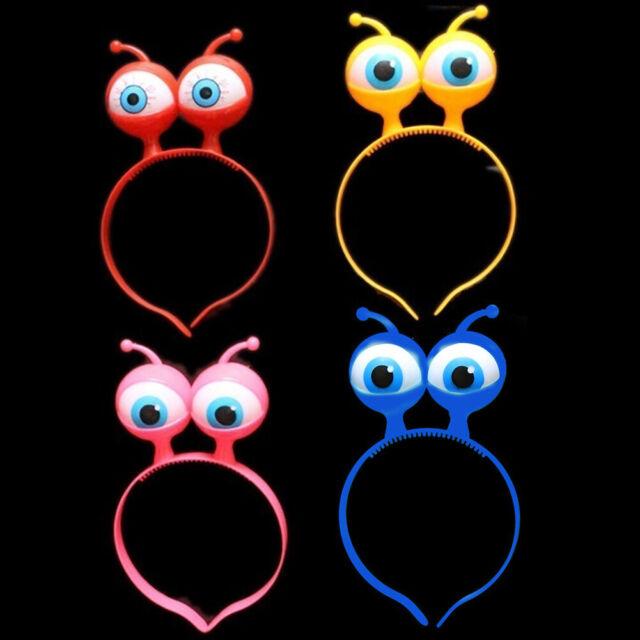 GI- BH_ Flashing Eyeball LED Hair Hoop Headb Halloween Evening Party Festival Pr