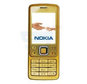 Nouveau NOKIA 6300-Or Style Bar-Téléphone Portable Débloqué Sans SIM-garantie