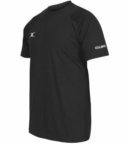 Clearance New Gilbert Rugby Action Tee Shirt Black 910 Years