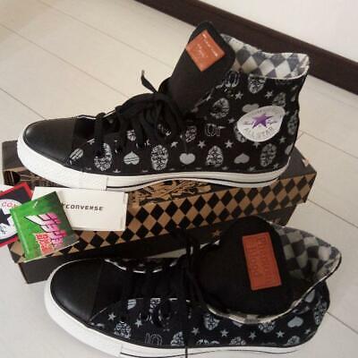 JoJo's Bizarre Adventure x Converse All Star Sneakers Black 26.5cm US8.5 | eBay