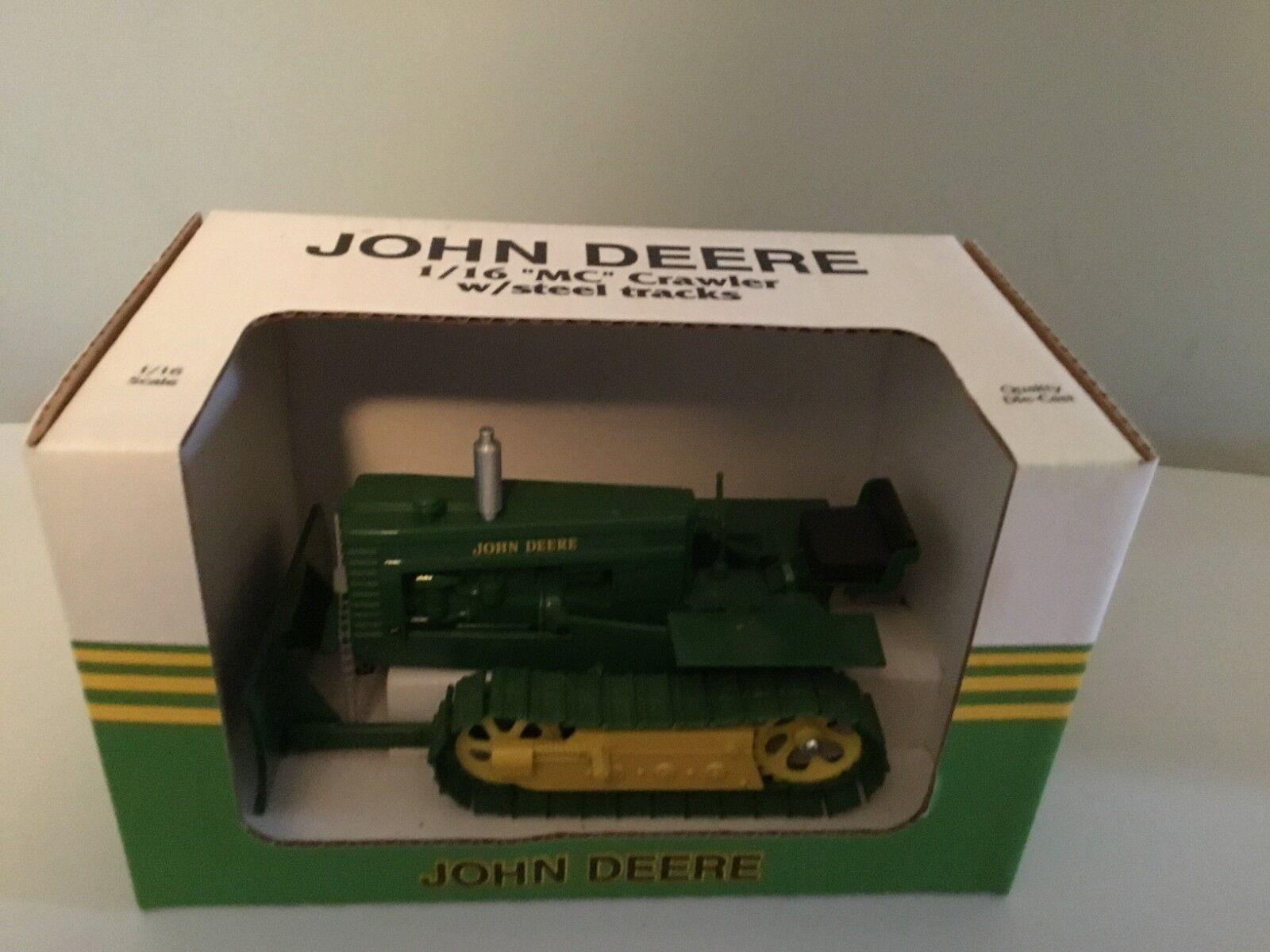 Nuevo En Caja De John Deere 1 16th Crawler con pistas de acero de McDonald