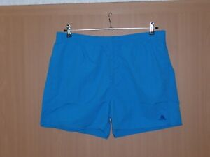 adidas Badehose Badeshorts Badeshort mit Taschen Mesh Innenslip blau XL neu