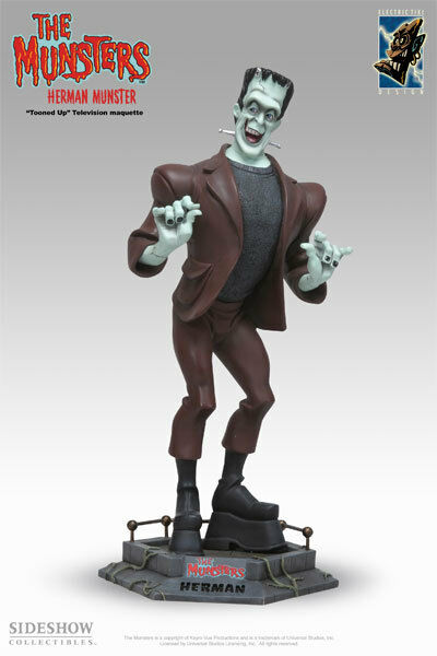 Electric Tiki Herman Munster (Limited Edition Sealed)   444 / 1313 SOLD OUT 2006