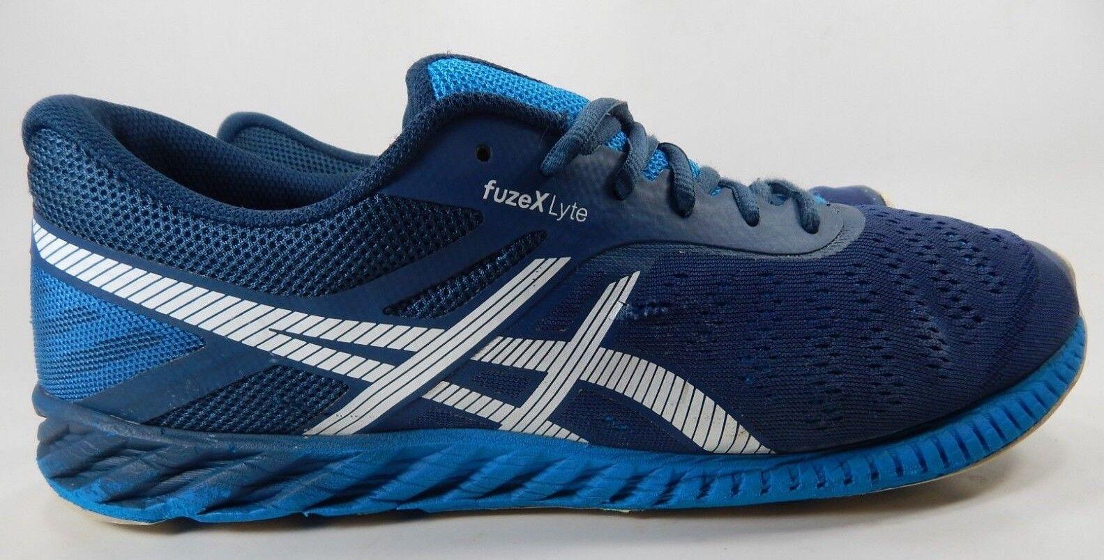 Asics FuzeX Lyte Size US 13 M (D) EU 48 Men's Running shoes bluee White T620N
