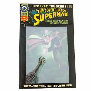 DC-Adventures-of-Superman-500-1993-1st-Appearance-Eradicator-No-Poly-Bag-VF-NM