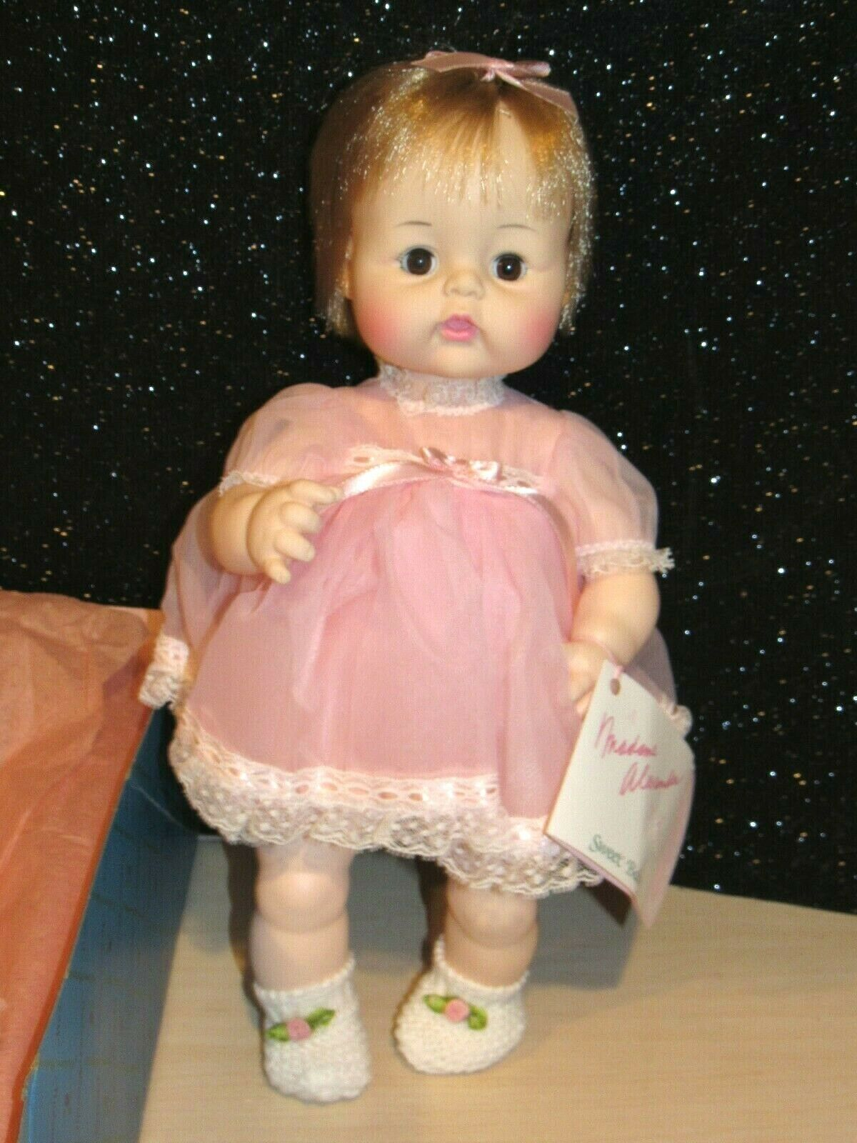 MADAME ALEXANDER Vintage 1965 SWEET BABY 13  Baby Doll  3631 HTF MINT IN BOX