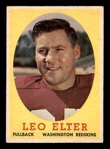 LEO-ELTER-1958-TOPPS-1958-NO-25-VGEX-22684