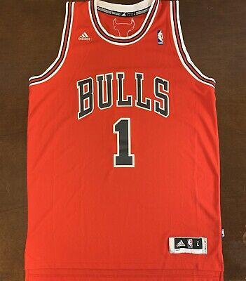adidas chicago bulls derrick rose jersey