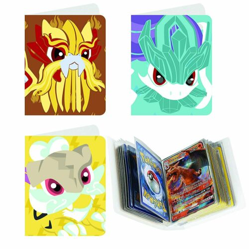 Totem World 3 Mini Binder Collectors Album for Pokemon Cards Each Holds 60...
