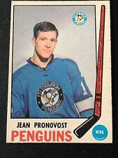1969-70 OPC #155 Jean Pronovost RC Pittsburgh Penguins