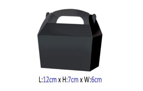Pequeño Caramelo Dulce Saquear Cajas-Caja de fiesta de regalo-Elige entre 13 Colores