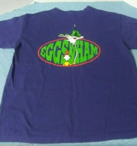 Vintage-1996-Dr-Seuss-The-Cat-In-The-Hat-Eggs-And-Ham-T-Shirt