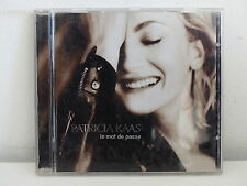 CD ALBUM PATRICIA KAAS Le mot de passe COL 494559 2