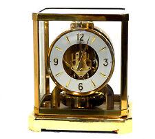 ATMOS 1960's JAEGER LECOULTRE 528-6 MANTLE CLOCK SERIAL #188XXX GOOD CONDITION