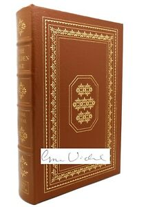 Gore Vidal THE GOLDEN AGE Signed Easton Press 1st Edition 1st Printing
