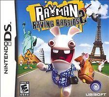 Rayman Raving Rabbids 2 (Nintendo DS, 2007)