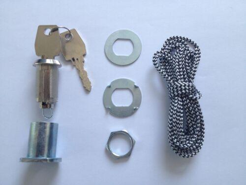 Notentriegelungsschloss für Condoor Garagentore bis 70 mm ISO60 67 68 69 70