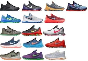 2937aaa8c596 New Authentic Nike Boys Grade School KD 8 Basketball Shoes Sizes 4 ...