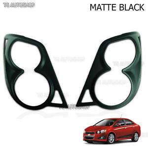 Matte Black Rear Light Tail Lamp Cover Fit Chevrolet Sonic