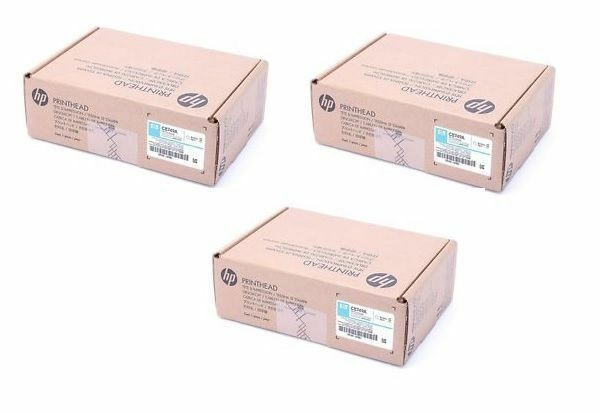 3 x HP Druckkopf Set CM8050 CM8060 MFP Color / C8747A C8748A C8749A Printhead