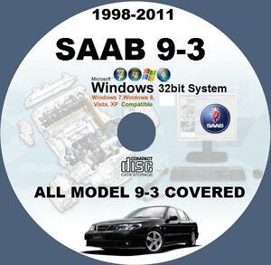 saab 9 3 1998 to 2011 wis all models master workshop service manual rh ebay co uk Saab 2005 9 3 Owners Manual Saab 2005 9 3 Owners Manual