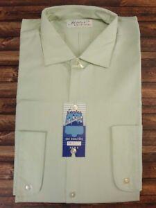 Shirt-Herren-True-Vintage-1950s-Totes-oerhead-Shirt-ungetragen-Groesse-L-HV-4468