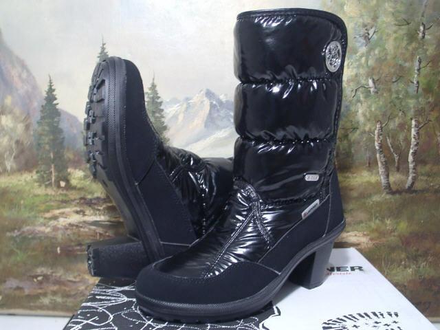Lackner Stiefel Stiefel Winter Damenschuhe schwarz Gr.36-42 7705 Neu12