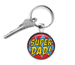 Super-Dad-Keyring-Family-Gifts-for-Him-Key-Chain