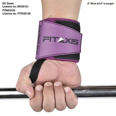 FITAXIS Weight Lifting Wrist Wraps Straps Support Wristbands Gym Boxing Straps..
